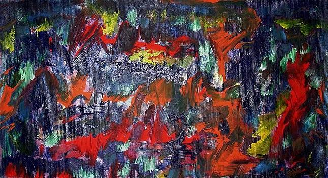 Oil Fall by Dmitry Kazakov