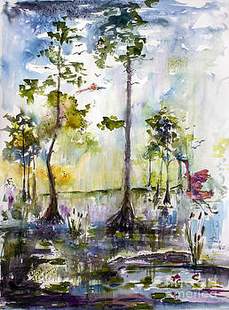 Ginette Fine Art LLC Ginette Callaway - Okefenokee Wild Free and Peaceful
