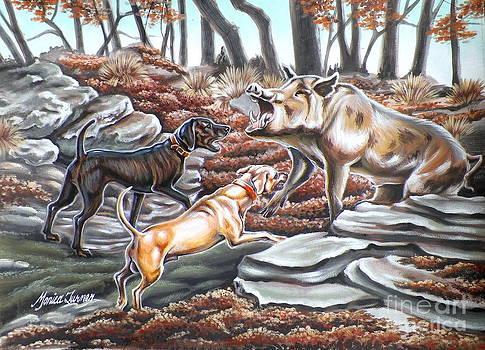 Oklahoma Hog by Monica Turner