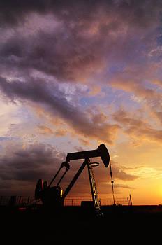 Oklahoma Oil Well by Sarah Rodefeld
