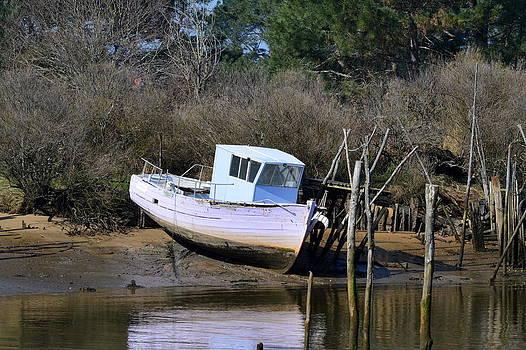 Bishopston Fine Art - Old Abandoned Boat 2