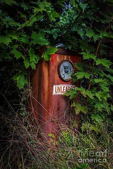 Edward Fielding - Old abandoned gasoline pump