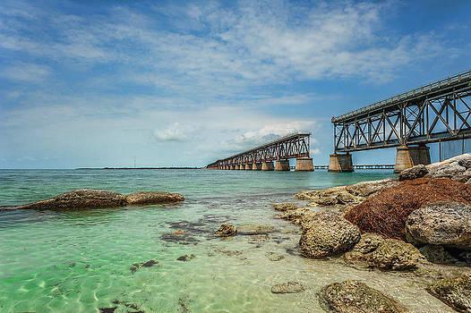 Old Bahia Honda Bridge by Kelley Nelson