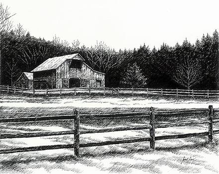 Janet King - Old Barn in Franklin Tennessee