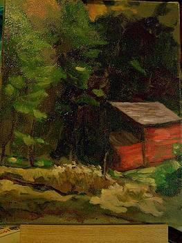 Old Barn  by Richard Wyman