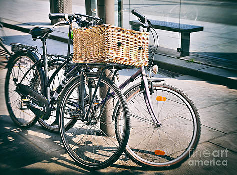 Old bicycle by Skyfish Images
