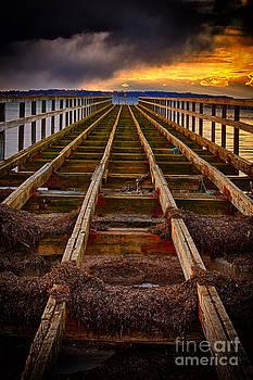 Old Borstahusen Pier by Miso Jovicic