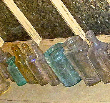 Old bottles by Lesley McCormack