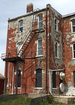 Gregory Dyer - Old Brick Building in downtown Montezuma Iowa - 03