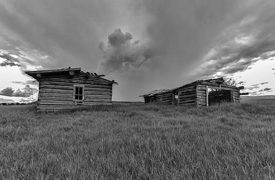 Old Cabins Resting by Stellina Giannitsi