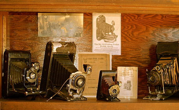 Old Cameras by Roseann Errigo