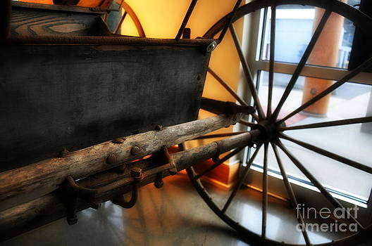Old Carriage by Tanya  Searcy
