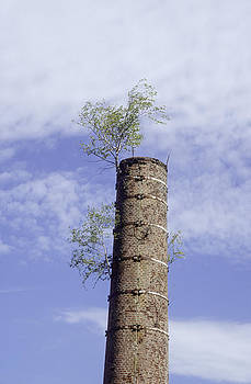 Old chimney by Patrick Kessler