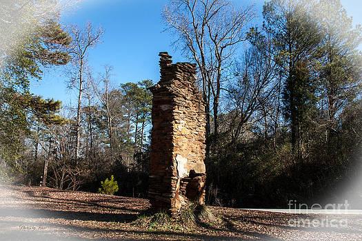 Old Chimney Still Standing by Jinx Farmer