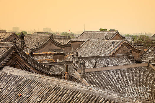 Fototrav Print - Old Chinese city Pingyao