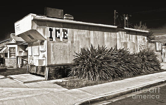Gregory Dyer - Old Chino Ice House - Sepia toned