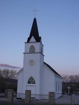 Old Church by Yvette Pichette