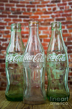Old Cola Bottles by Serene Maisey