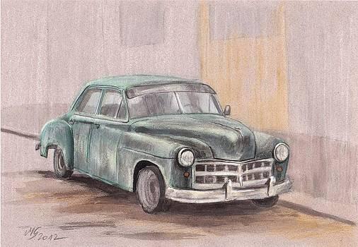 Old dodge by Milena Gawlik