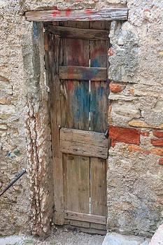 Old Door by Susan Leonard