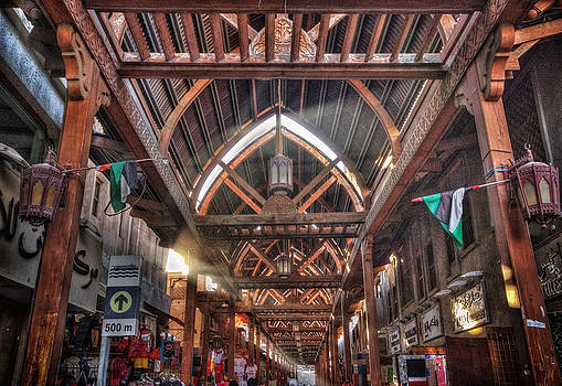 Old Dubai Market by John Swartz