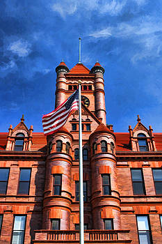 Christopher Arndt - Old DuPage County Courthouse Flag