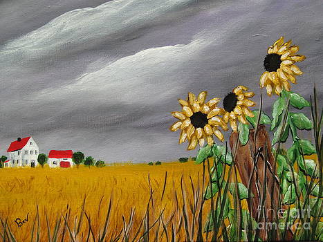 Old Farm 2 by Beverly Livingstone