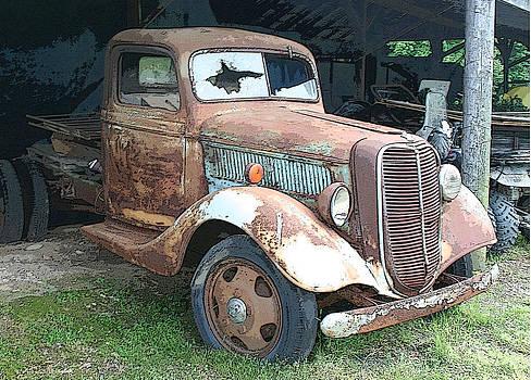 Old Farm Truck by Bonnie Willis