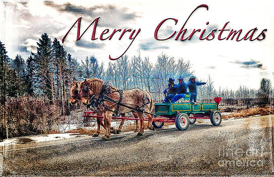 Old Fashion Merry Christmas by Lori Frostad