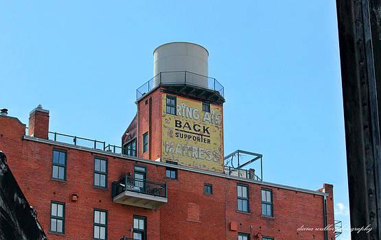 Old Fashioned Billboard by Diana Walker