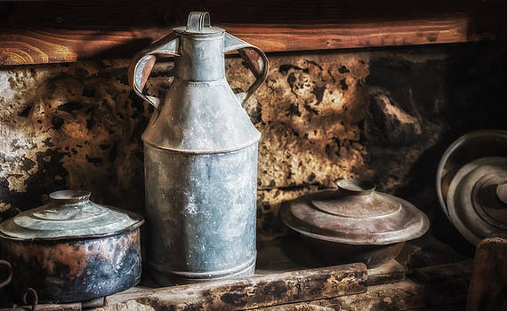 Old-fashioned kitchen by Dobromir Dobrinov