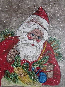 Old Fashioned Santa by Kathy Marrs Chandler