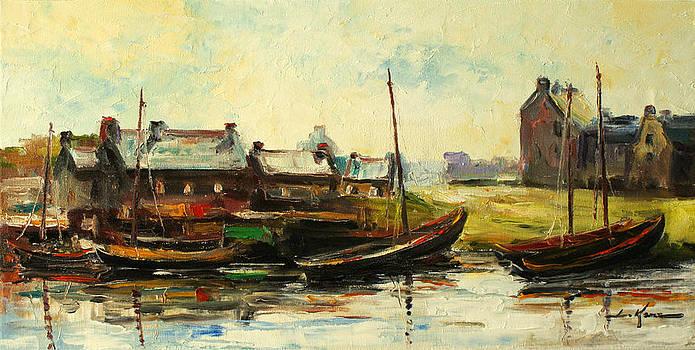 Old Fisherman's village by Luke Karcz