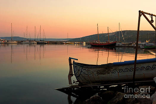 Old Fishing Harbor on Black Sea by Kiril Stanchev
