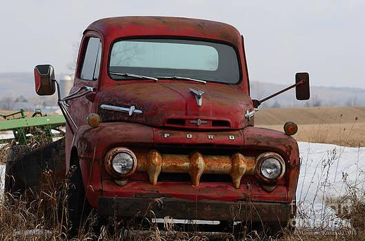 Old Ford by Marianne Kuzimski
