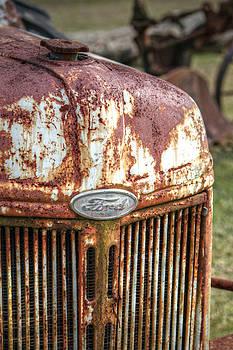 Old Ford Tractor by Lynn Jordan