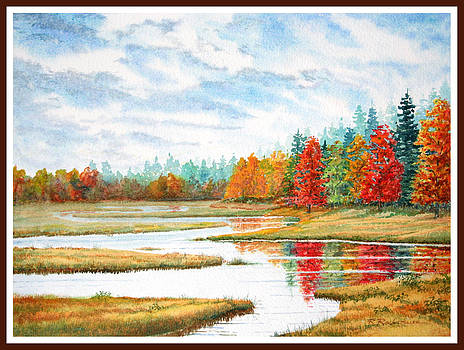 Old Forge Autumn by Roger Rockefeller