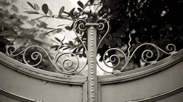 Old Garden Gate by Colleen Williams
