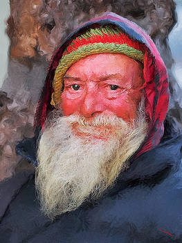 Old Gentleman  by SM Shahrokni