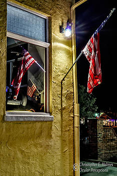 Christopher Holmes - Old Glory Reflected