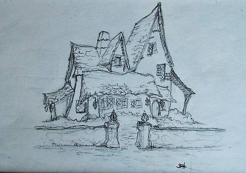 Old House by Joseph Hawkins