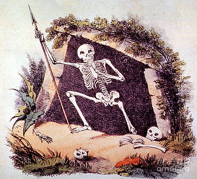 Photo Researchers - Old King Death 1827