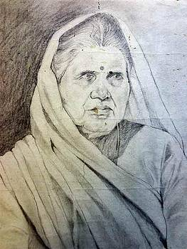 Old Lady by Gourav Sheode