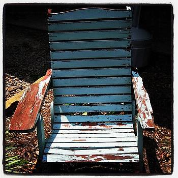 Old Lawn Chair by Susan Sorrell