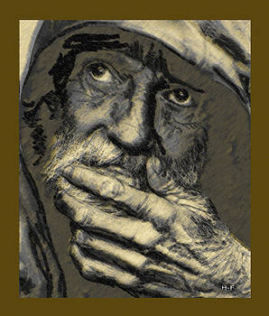 Old man by Herbert French