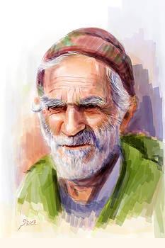 Old man by Reza Daliloltejari