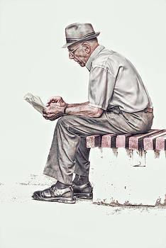Old Man by Vjekoslav Antic
