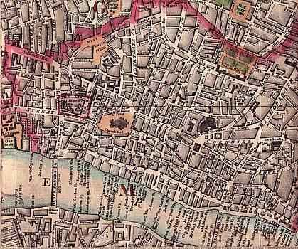 London old map close up by AR Annahita