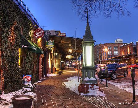 Old Market - Omaha by Andrea Kelley
