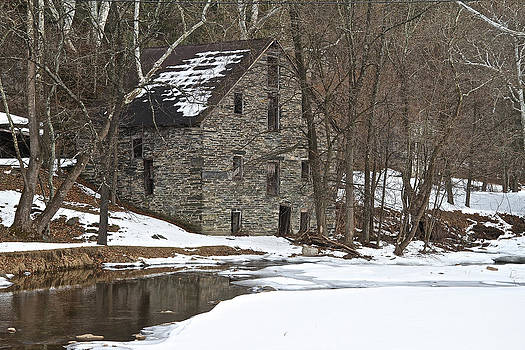 Old Mill Stream by Donna Quante